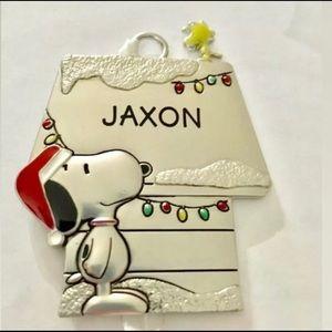 JAXON Snoopy and Woodstock Hallmark Ornsment